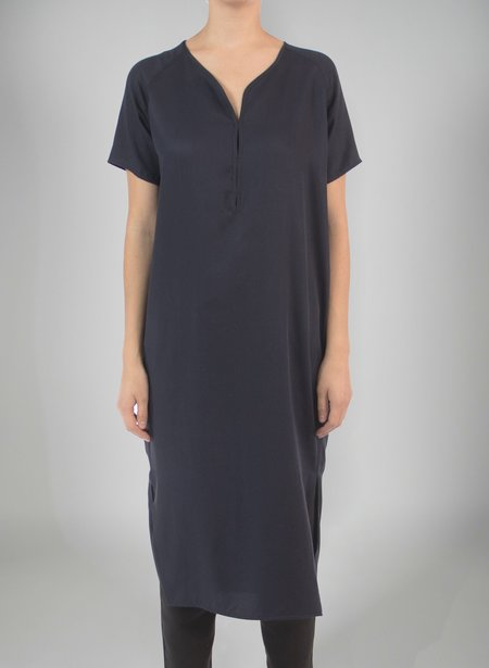 Priory Shop Key Dress - Navy
