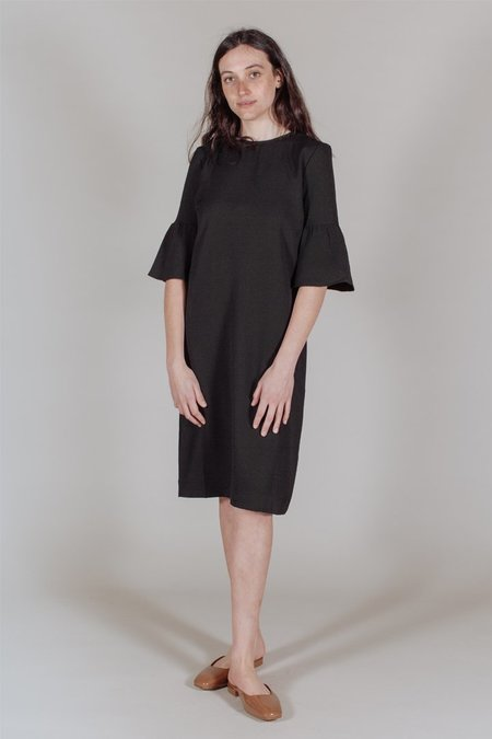 Ganni Clark Dress in Black