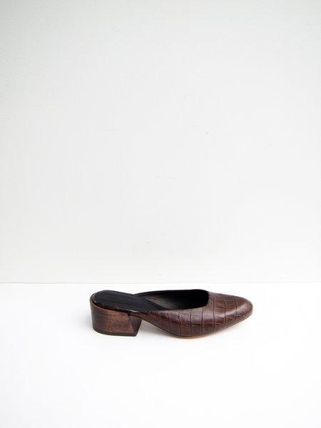 Mari Giudicelli Leblon Mule - Pinhao Croc