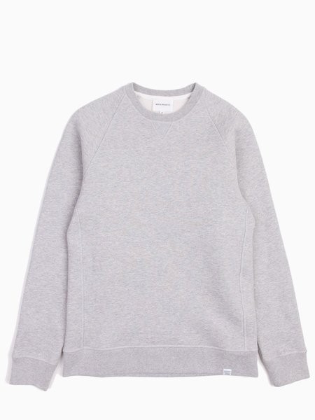 Norse Projects Ketel Classic Crew - LT Gry Melange