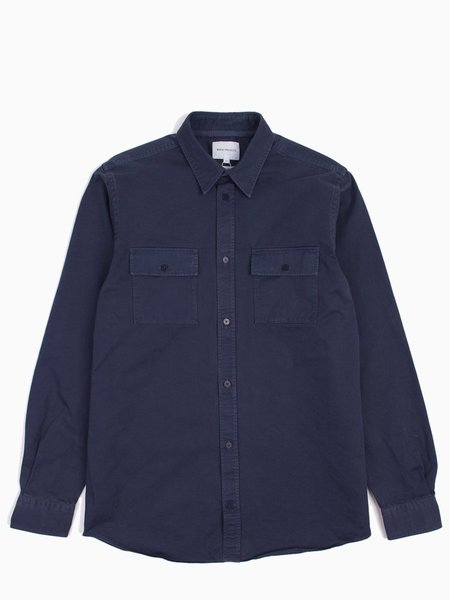 Norse Projects Villads Twill - Navy