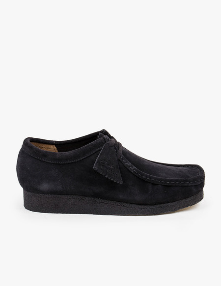 Clarks Originals Wallabee - Black Suede