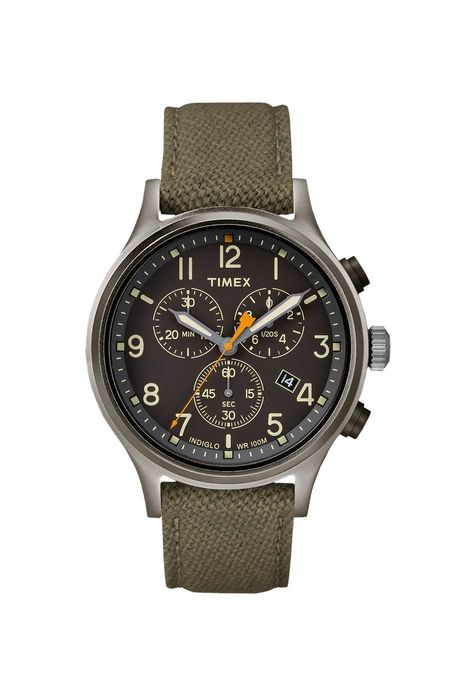 Timex Allied Chronograph Watch - Olive/Black