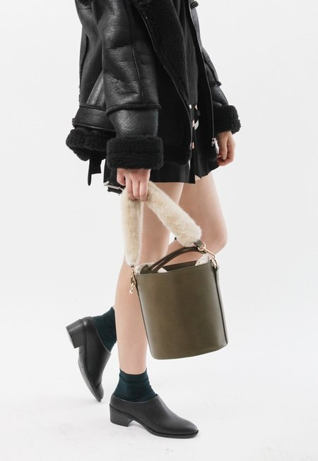 Among Two Strap Bucket Bag