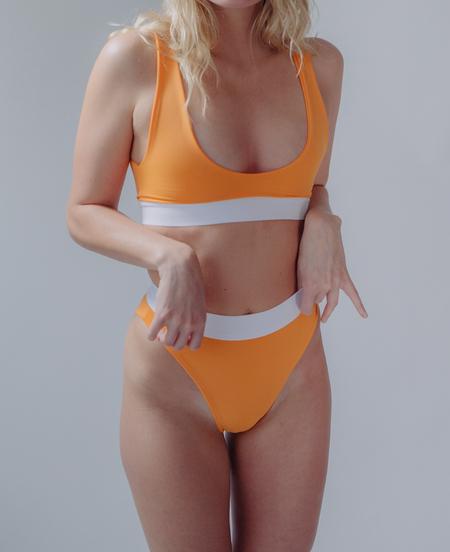 Fin and Ray Far Bottom 2 - Orange
