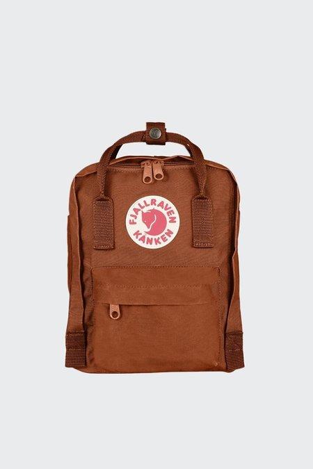 Fjallraven Mini Kanken Backpack - brick