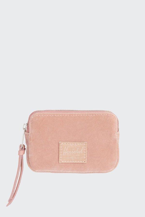 HERSCHEL SUPPLY CO Oxford Wallet - ash rose velvet
