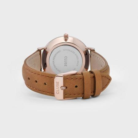 CLUSE LA BOHEME CL18011 WATCH - ROSE GOLD/WHITE/CARAMEL
