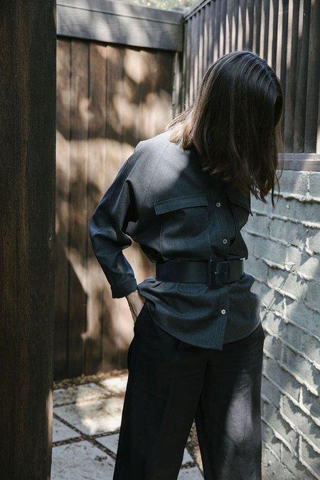 Sherie Muijs Shirt No. 14 - Charcoal