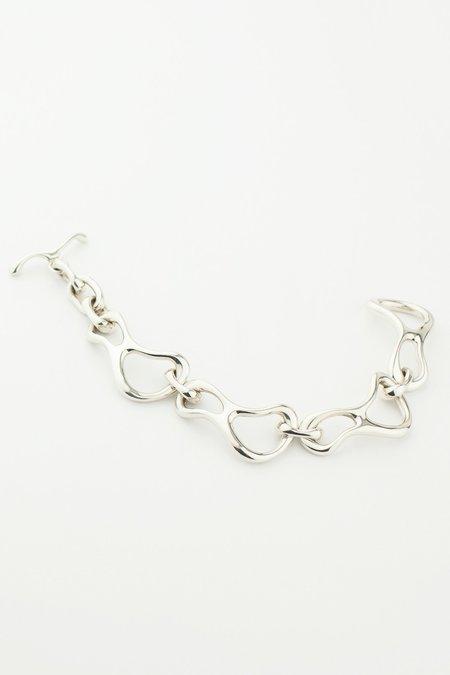 MM Druck Silver Modern Link Bracelet - SILVER