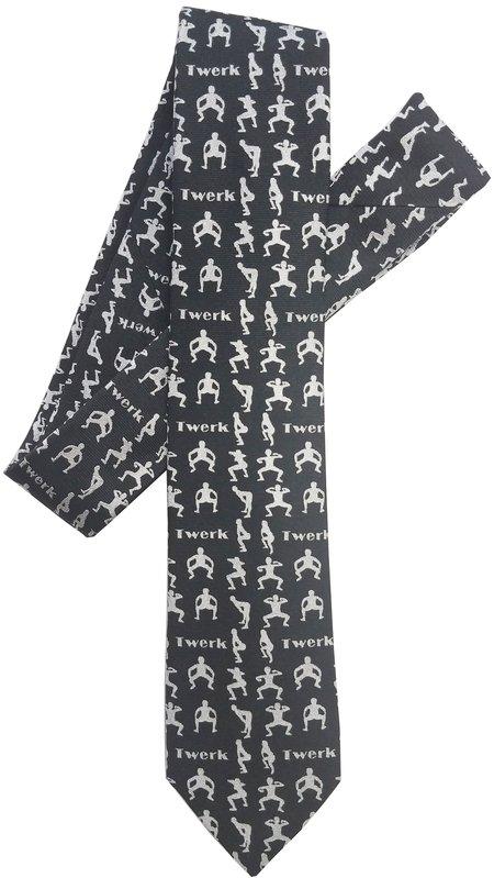 David Hart Twerk English Silk Tie