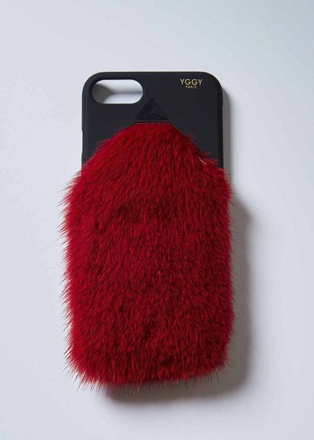 YGGY Mink iPhone 7/8 Case - Red