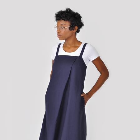 Kowtow Shadow Dress - Navy