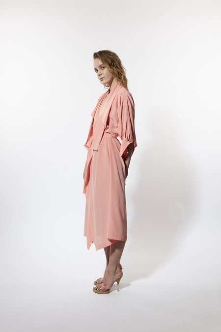 Miss Crabb Bedcoat Deco - Pink