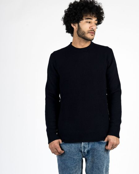 Harmony Wulf Sweater - Navy