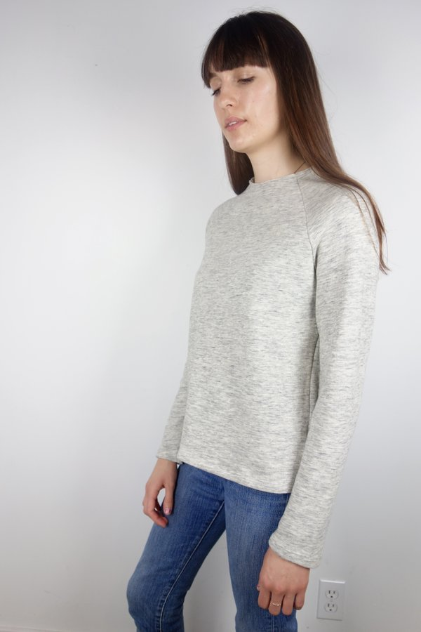 Calder Blake Sonia French Terry Roll Neck Pullover