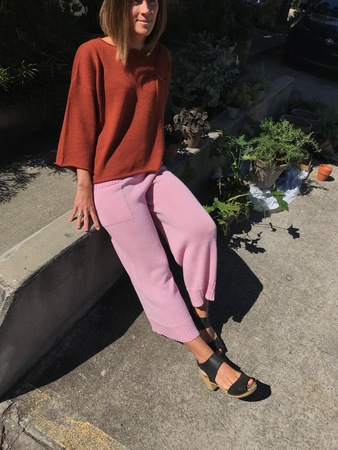 Proud Mary Knit Pant - Orchid