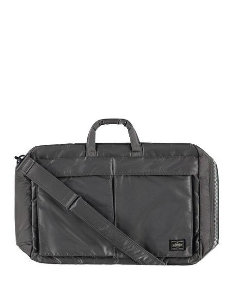 Porter-Yoshida & Co Tanker 3Way Briefcase - Silver/Grey