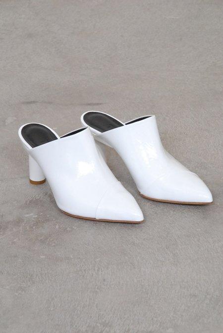 Tibi Liam Heels - Bright White