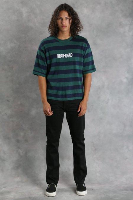 Brain Dead Striped Angora Sweater T-Shirt