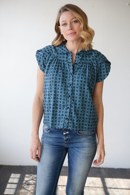 Ace & Jig Monet Top in Nocturne