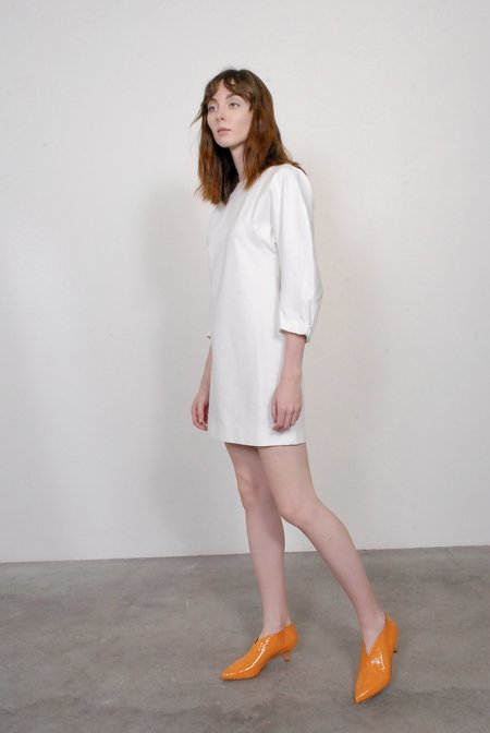 Tibi Bond Sculpted Dress - Ivory