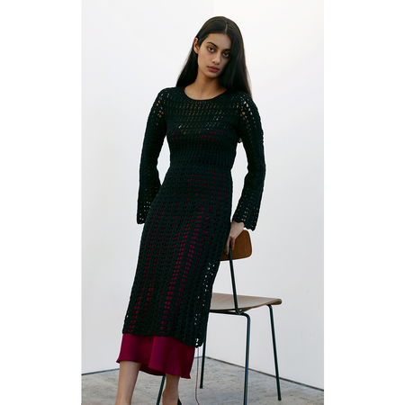 Pari Desai Savona Crochet Dress