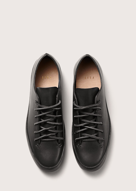 Feit Hand Sewn Low - Black