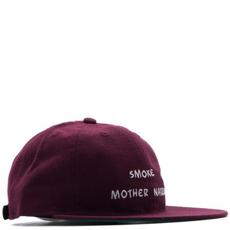 MISTER GREEN SMOKE MOTHER NATURE CAP - MAROON