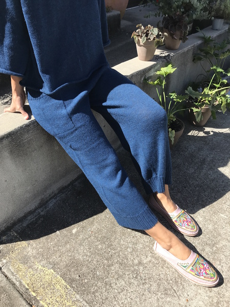 Proud Mary Knit Pant Blue