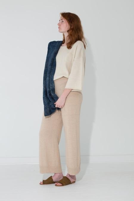 Proud Mary Knit Pant - Ecru