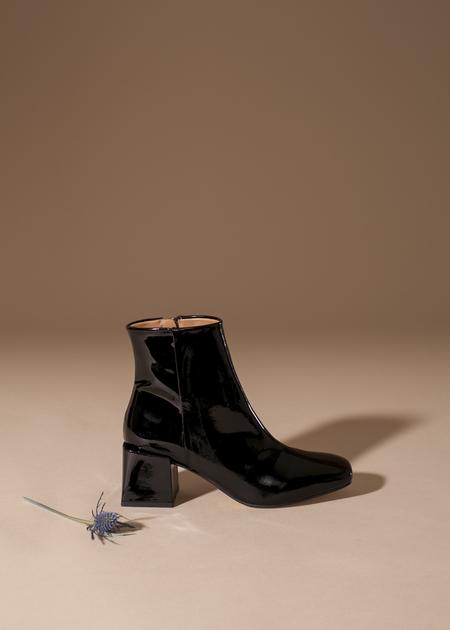 LoQ Lazaro Boot - Black Patent