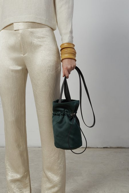 Nomia Crossbody Bucket Bag - Forest