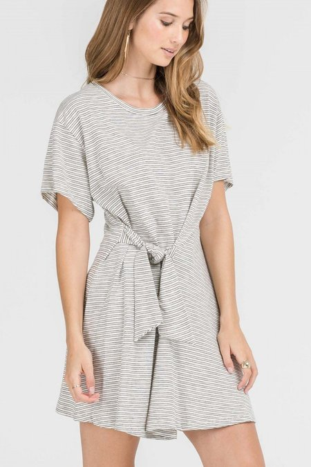 Lush Jenna Tie-Front Dress