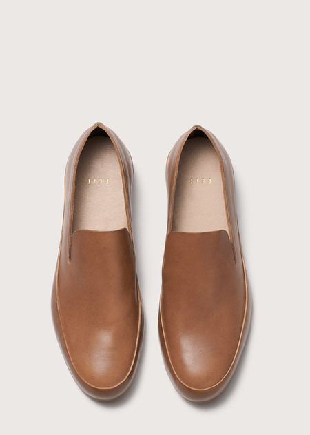 Feit Hand Sewn Slipper - Tan