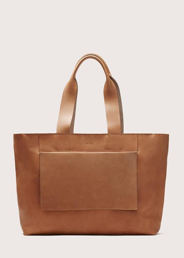 FEIT Large Tote Bag - Tan
