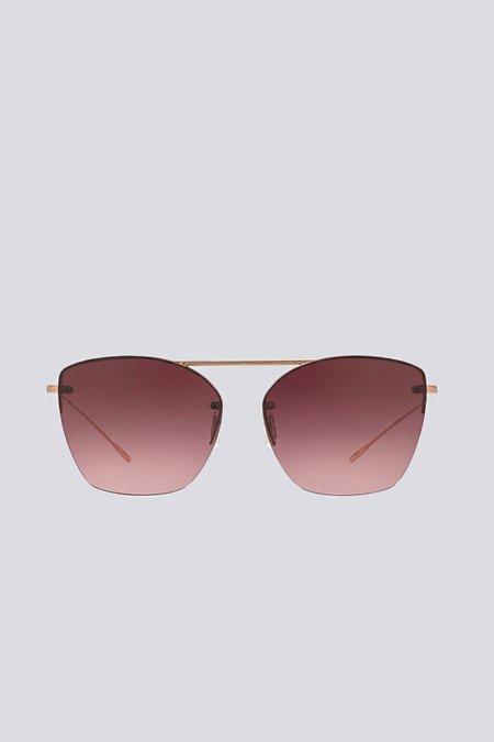 Oliver Peoples Metal Ziane Sunglasses