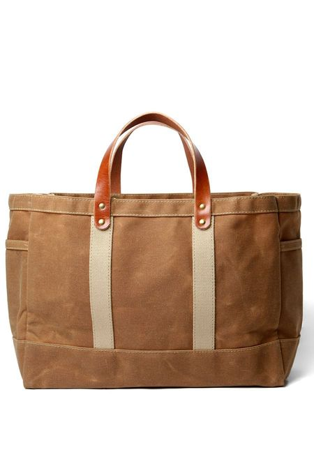 Artifact Tool & Garden Tote - Waxed Tan