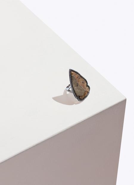 Pamela Love Arrowhead Ring - Two-toned Flint & Sterling Silver