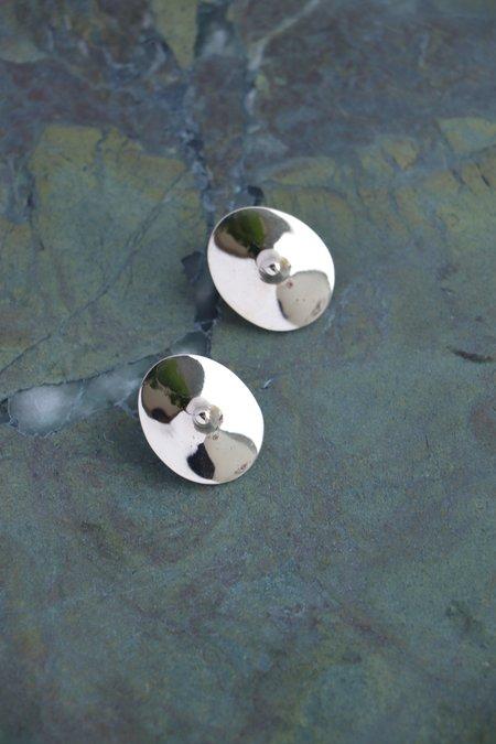 Quarry Votive Earrings - White Bronze