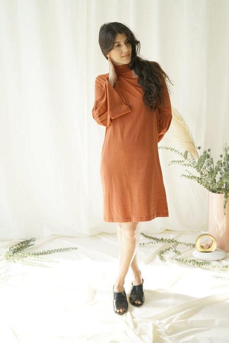 Selva Negra Rosalyn Dress in Spice Knit