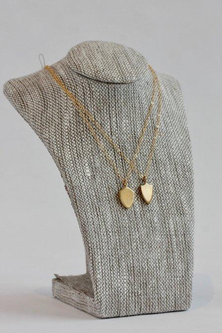 Jené DeSpain Moxie Brass Shield