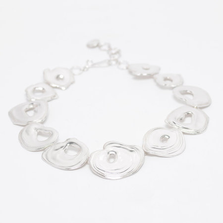 Leigh Miller Sterling Silver Whirlpool Necklace