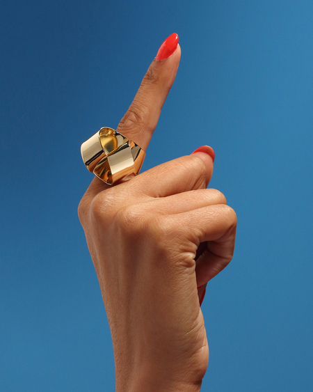 Oblik Atelier Bloom Ring