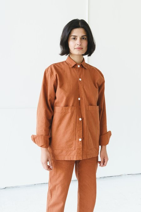 Unisex Ijji Work Jacket - Terracotta