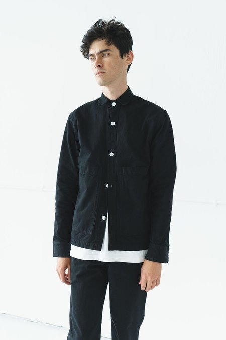 Unisex Ijji Work Jacket - True Black