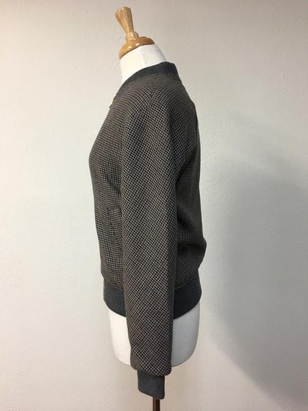 Noa Noa Tweed Bomber Jacket