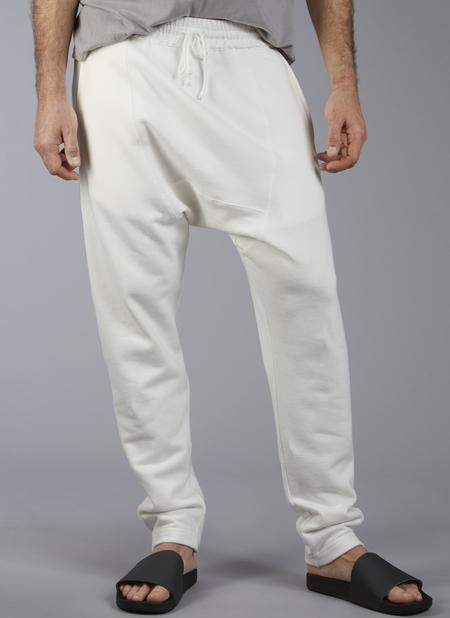 Grei Droprise Sweatpant In White