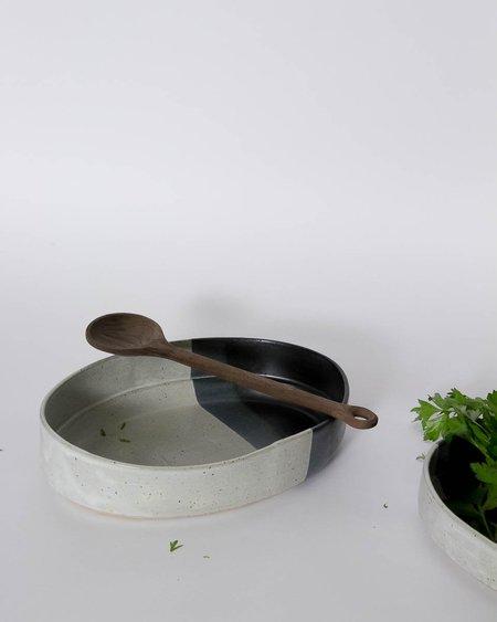 Len Carella x Kettle & Brine Large Oval Stoneware Bowl