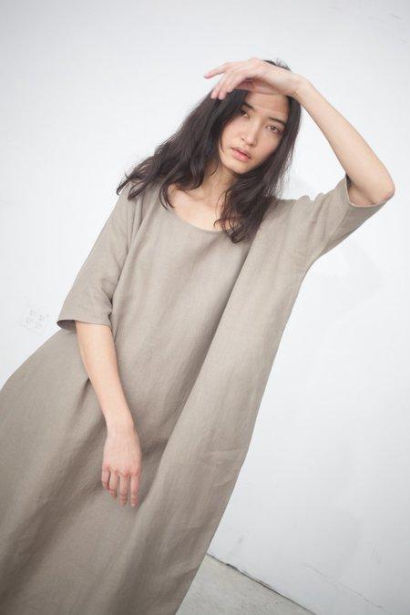 Rachel Craven Long Cocoon Dress in Sage